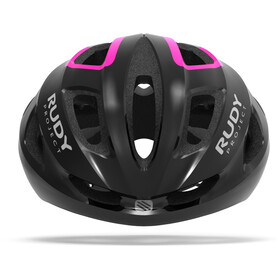 Rudy Project Strym Helmet black/pink fluo shiny